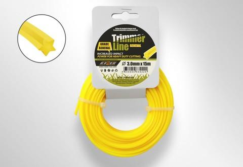 Леска для триммера Trimmer Line (3.0 мм х 15м Звезда)