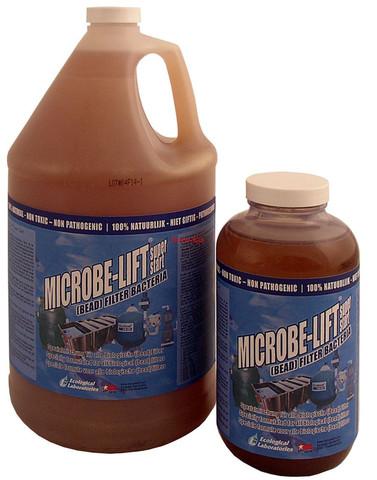 Живые бактерии для быстрого запуска фильтра Microbe-Lift Super Start 4L