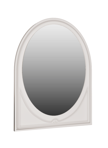 Зеркало настенное Melania 07 Арника рамух белый