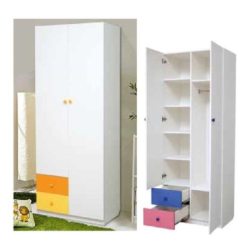 Шкаф 2-х дверный комбинированный с ящиками Радуга