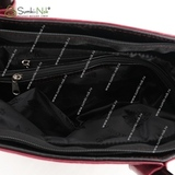 Сумка Саломея 960 палермо рубин + черный
