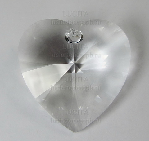 6228 Подвеска Сваровски Сердечко Crystal (28 мм) ()