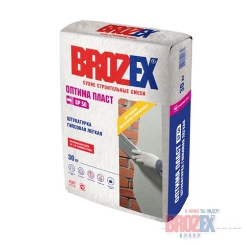Штукатурка Brozex Оптима Пласт GP 50 30 кг