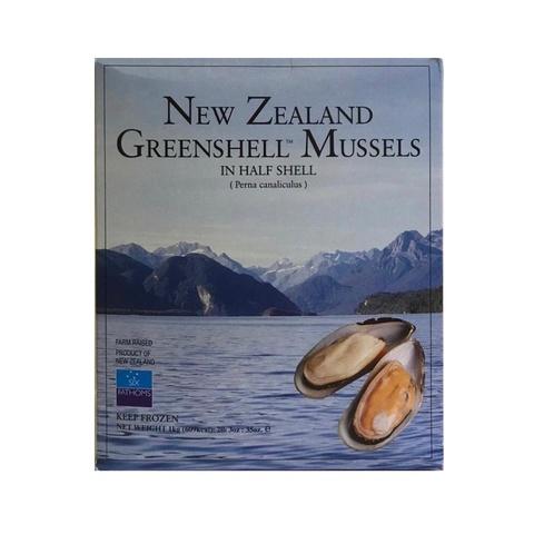 Мидии в раковинах Гигант Новая Зеландия, 1 кг