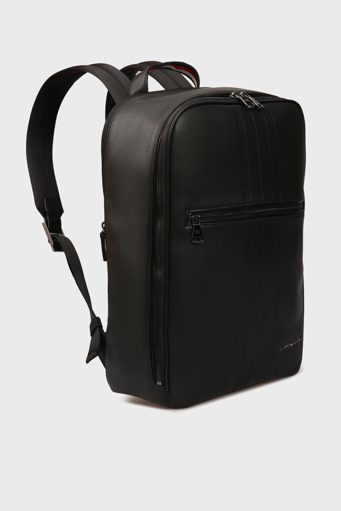 Мужской черный рюкзак TH METRO Tommy Hilfiger