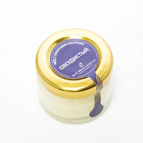 Мёд с эфирными маслами «Сосудистый» 30 г