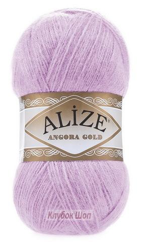 Angora GOLD Alize 27 Лиловый - фото