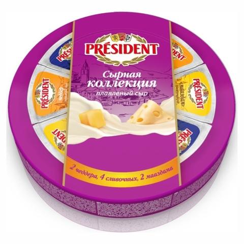 Сыр плавл PRESIDENT Сырная Коллекция 45% 140 г РОССИЯ