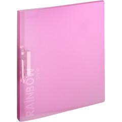 Папка с зажимом Attache Rainbow Style А4 0.45 мм розовая (до 150 листов)