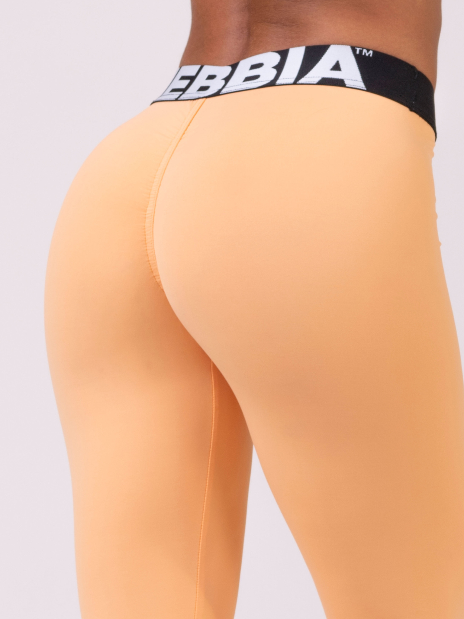 Лосины NEBBIA Squad Hero Scrunch Butt leggings 528 APRICOT