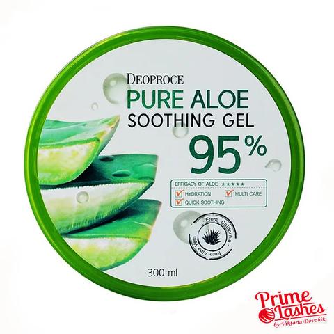 Универсальный Гель алое Deoproce Pure Aloe SoothingGel 95%
