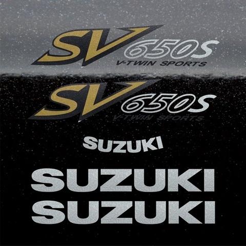 Набор виниловых наклеек на мотоцикл SUZUKI SV 650S 2002