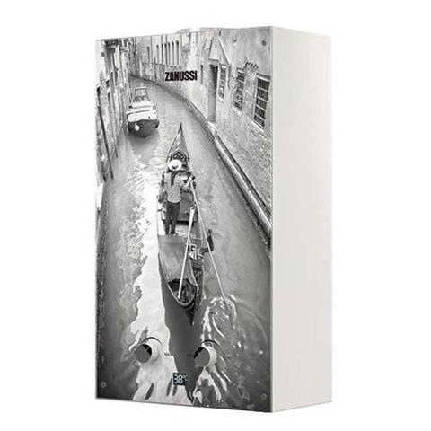 Водонагреватель газовый проточный Zanussi Fonte Glass GWH 10 (с изображением Венеции)