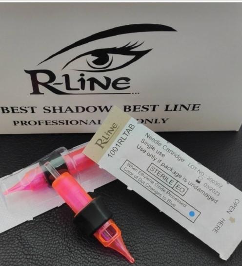 Картриджи для тату R-Line Premium 1001 RL AB T.(0.30-средняя)