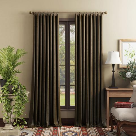 Комплект штор Тейлор коричневый