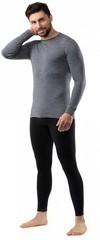 Кофта мужская Norveg Soft Woolmark, серый меланж - 2