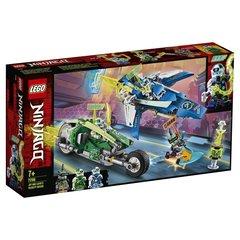 Lego konstruktor Ninjago Jay and Lloyd's Velocity Racers