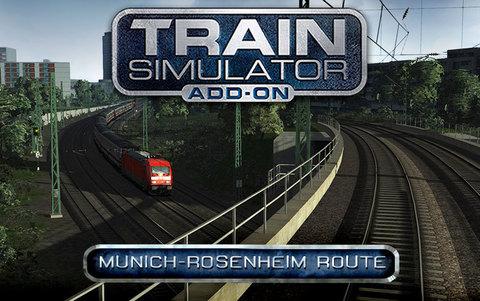 Train Simulator: Munich - Rosenheim Route Add-On (для ПК, цифровой ключ)