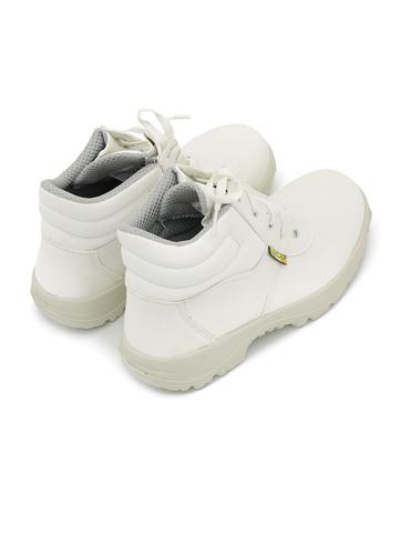 Ботинки рабочие «BICAP» L 2409 3S2 белые из мирофибры