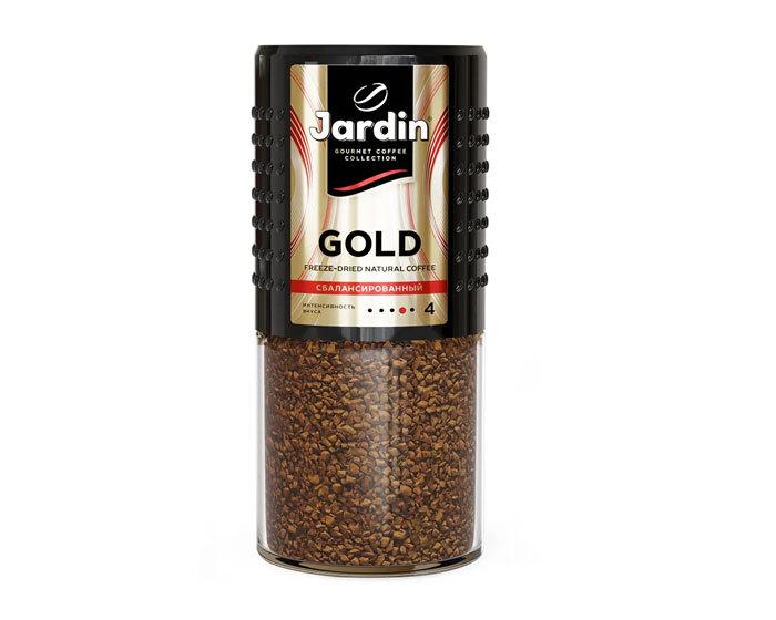 купить Кофе растворимый Jardin Gold, 190 г стеклянная банка