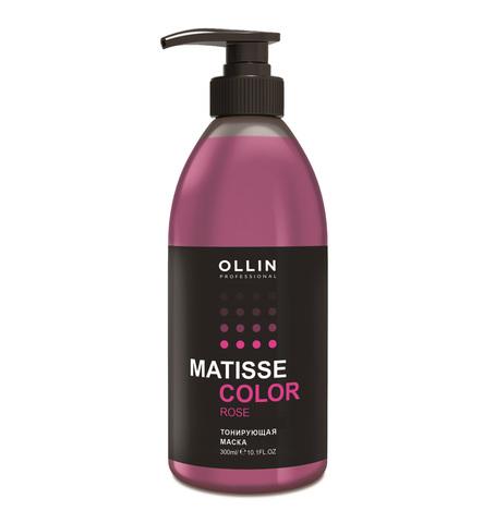 OLLIN PROFESSIONAL MATISSE COLOR Тонирующая маска Розовый 300 мл