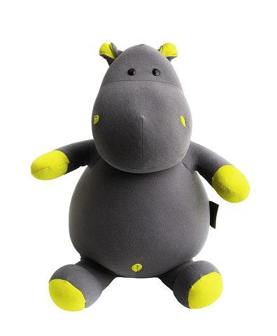 Подушка-игрушка антистресс Gekoko «Бегемот Няша», желтый 2