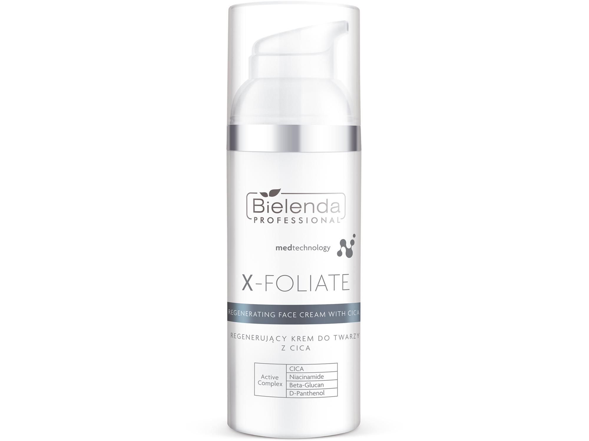 X-FOLIATE Regenerating Face Регенерирующий крем для лица с CICA, 50 мл.