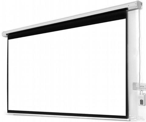 ProCor Экран для проектора 300x300см электро+пульт