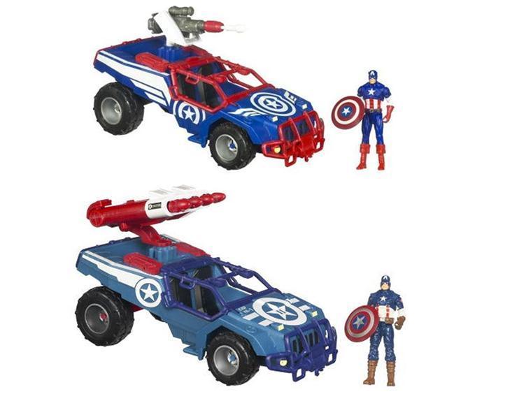 Captain America Battle Vehicle Series 01