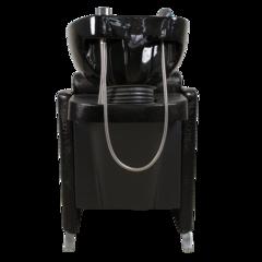 Парикмахерская мойка МД-123 с механической регулировкой подъема подушки под ноги