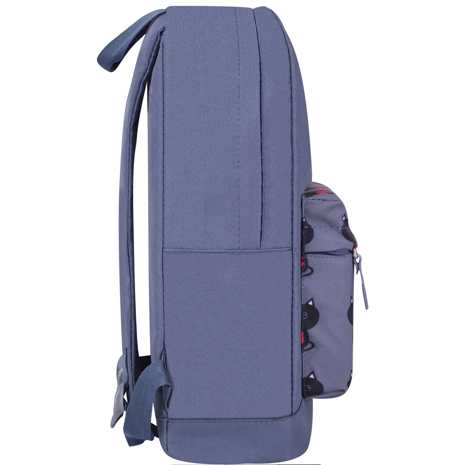 Рюкзак Bagland Молодежный W/R 17 л. Серый 750 (00533662) фото 2