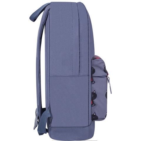 Рюкзак Bagland Молодежный W/R 17 л. Серый 750 (00533662)