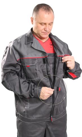 Костюм Мастер цв.Серый (ткань смесовая Могилев)/Акция
