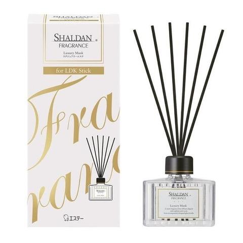 Наполнитель с ротанговыми палочками ST Shaldan Fragrance Роскошный мускус 80 мл