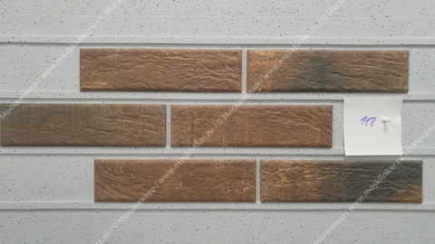 Cerrad Loft brick, Cardamon, 245x65x8 - Клинкерная плитка для фасада и внутренней отделки