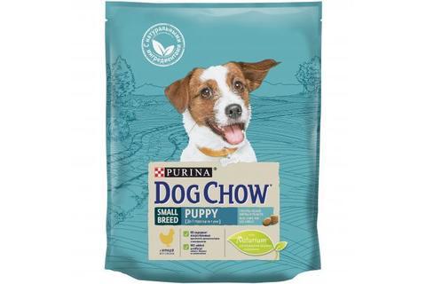 Сухой корм Purina Dog Chow для щенков мелких пород, курица
