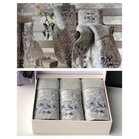 Набор салфеток Narcissa 3пр по 30х50 TIVOLYO HOME Турция