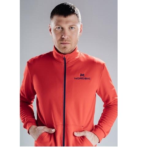 Толстовка Nordski Zip Red мужская