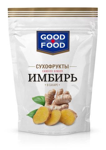 GOOD FOOD Имбирь в сахаре 130г
