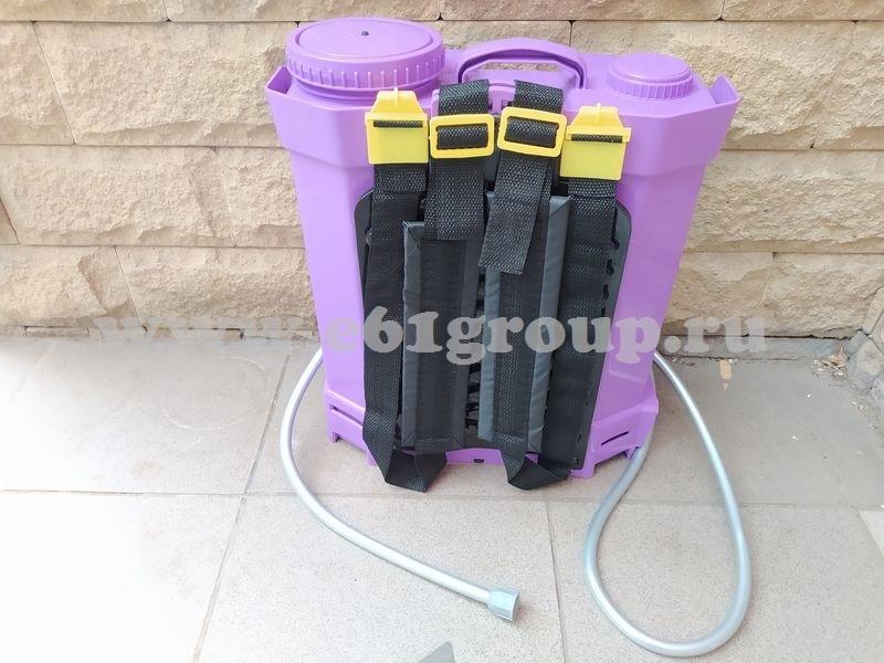 4 Опрыскиватель аккумуляторный Comfort ЭОЭ-12л с регулятором мощности