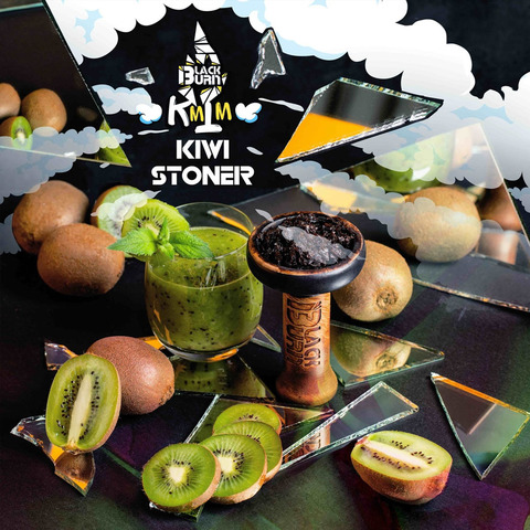 Табак Burn Black KiwiStoner (Киви Смузи) 200 г
