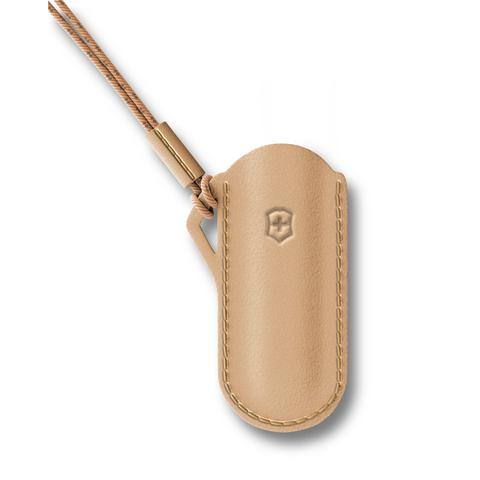 Чехол Victorinox для ножей Classic Colors 58 мм, кожаный,