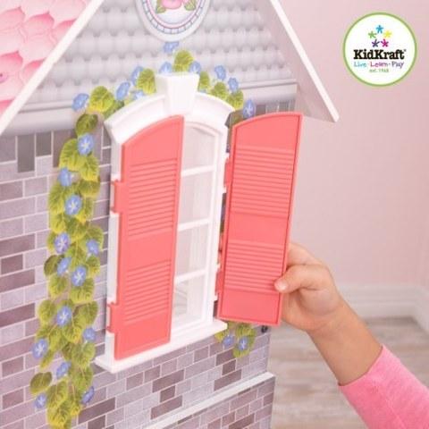 Винтажный кукольный дом для Барби KidKraft Магнолия с мебелью 13 предметов 65839_KE