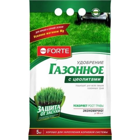Bona Forte удобрение газонное с цеолитом 5кг
