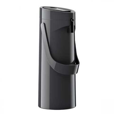 Термос Emsa Ponza Jugs, стеклянная колба с пневмонасосом (1,9 литра), черный