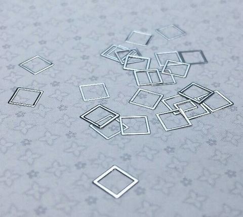 ARTEX квадрат серебро 4 мм 07320078