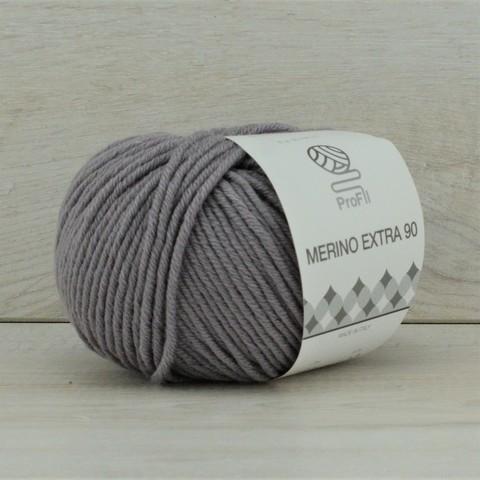 Пряжа Merino Extra 90 (Мерино экстра 90) Серый