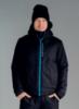 Утеплённый прогулочный лыжный костюм Nordski Montana Black мужской