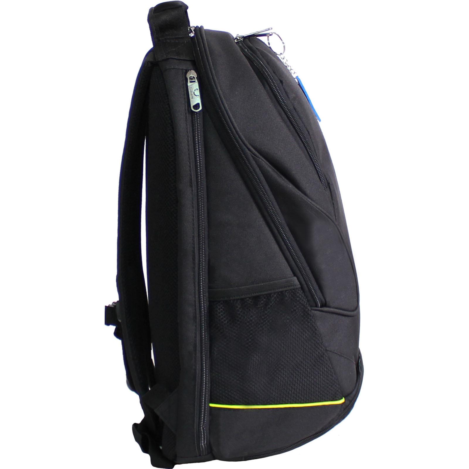 Рюкзак для ноутбука Bagland Рюкзак ZOOTY 24 л. Чёрный (00531662) фото 2