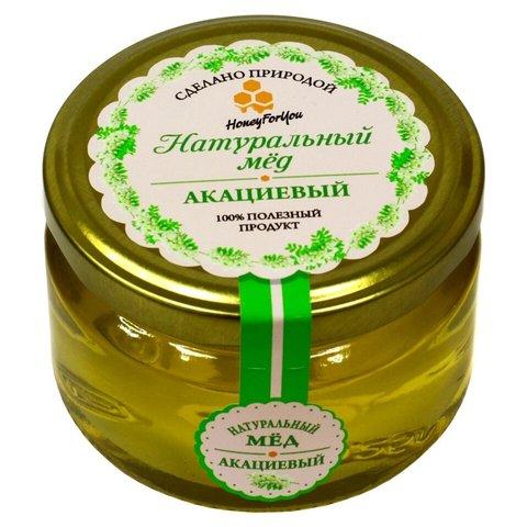 Натуральный акациевый мед HoneyForYou, 250 г.